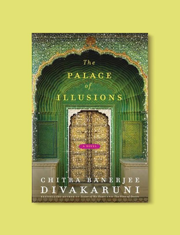 Books Set In India - The Palace of Illusions by Chitra Banerjee Divakaruni. For more books visit www.taleway.com to find books set around the world. Ideas for those who like to travel, both in life and in fiction. #books #novels #bookworm #booklover #fiction #travel