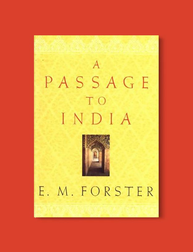 Books Set In India - A Passage to India by E. M. Forster. For more books visit www.taleway.com to find books set around the world. Ideas for those who like to travel, both in life and in fiction. #books #novels #bookworm #booklover #fiction #travel