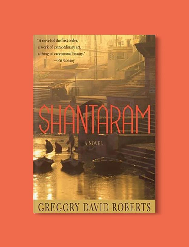 Books Set In India - The Shantaram by Gregory David Roberts. For more books visit www.taleway.com to find books set around the world. Ideas for those who like to travel, both in life and in fiction. #books #novels #bookworm #booklover #fiction #travel