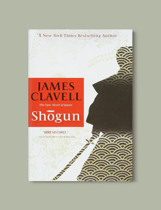 Books Set In Japan - Shogun by James Clavell. For more books visit www.taleway.com to find books set around the world. Ideas for those who like to travel, both in life and in fiction. #books #novels #bookworm #booklover #fiction #travel #japan