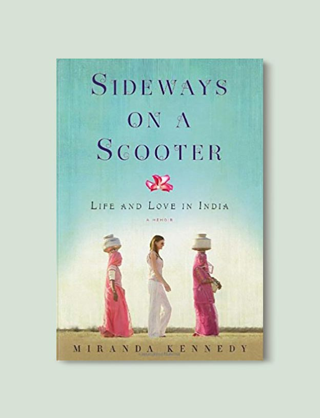 Books Set In India - Sideways On A Scooter by Miranda Kennedy. For more books visit www.taleway.com to find books set around the world. Ideas for those who like to travel, both in life and in fiction. #books #novels #bookworm #booklover #fiction #travel