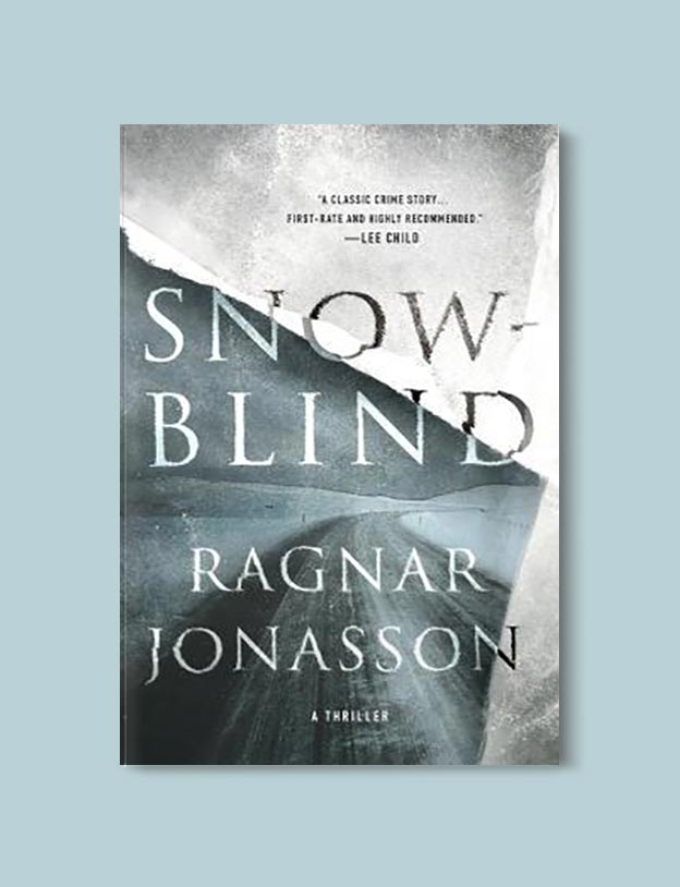 Books Set In Iceland - Snow Blind by Ragnar Jónasson. For more books visit www.taleway.com to find books set around the world. Ideas for those who like to travel, both in life and in fiction. #books #novels #fiction #iceland #travel