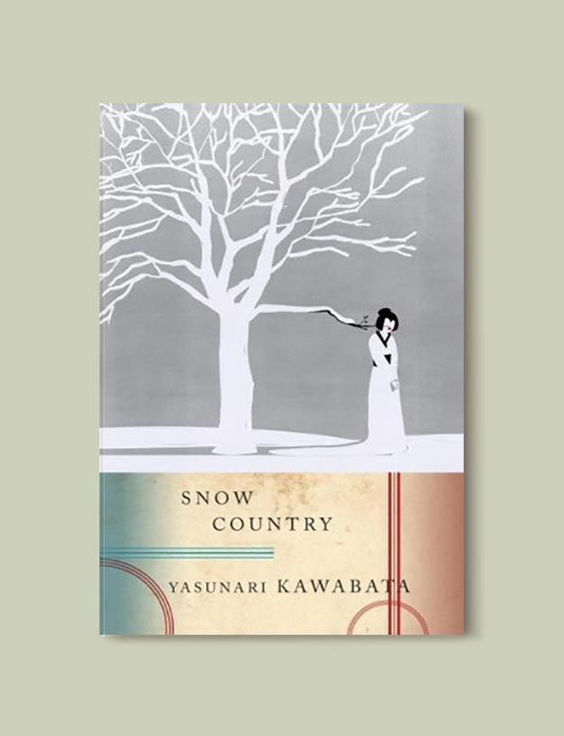 Books Set In Japan - Snow Country by Yasunari Kawabata. For more books visit www.taleway.com to find books set around the world. Ideas for those who like to travel, both in life and in fiction. #books #novels #bookworm #booklover #fiction #travel #japan