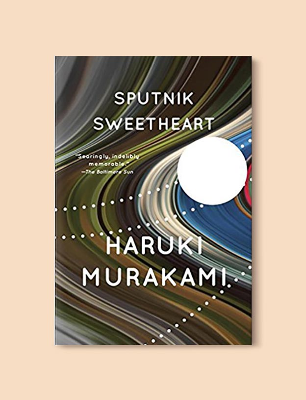 Books Set In Greece - Sputnik Sweetheart by Haruki Murakami. For more books visit www.taleway.com to find books set around the world. Ideas for those who like to travel, both in life and in fiction. #books #novels #fiction #travel #greece