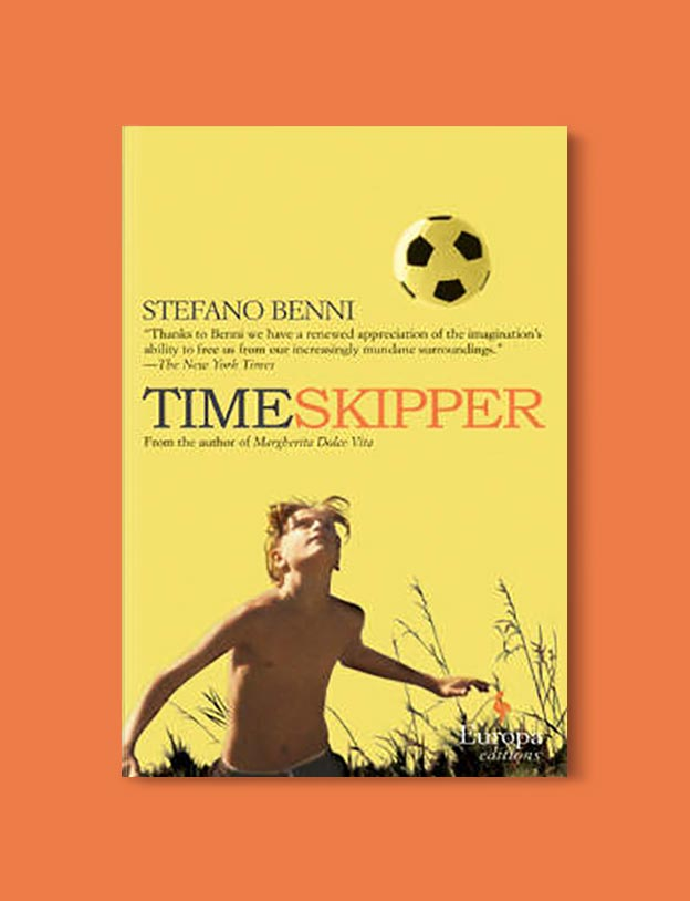 Books Set In Italy - Timeskipper by Stefano Benni. For more books that inspire travel visit www.taleway.com to find books set around the world. italian books, books about italy, italy inspiration, italy travel, novels set in italy, italian novels, books and travel, travel reads, reading list, books around the world, books to read, books set in different countries, italy