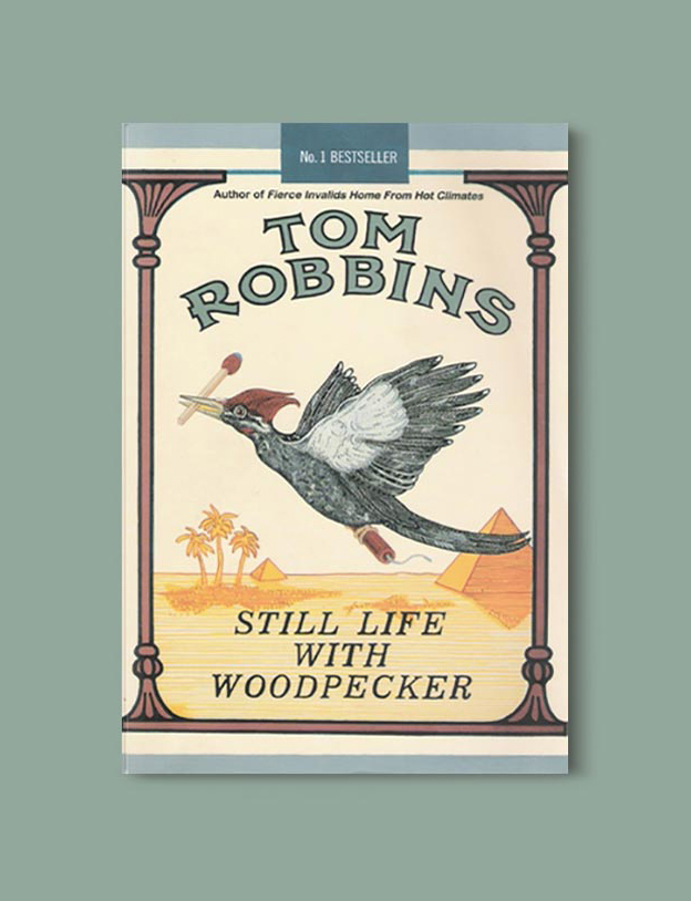 Books Set In Hawaii - Still Life With Woodpecker by Tom Robbins. For more books visit www.taleway.com to find books from around the world. Ideas for those who like to travel, both in life and in fiction. #books #novels #hawaii #travel #fiction #bookstoread #wanderlust