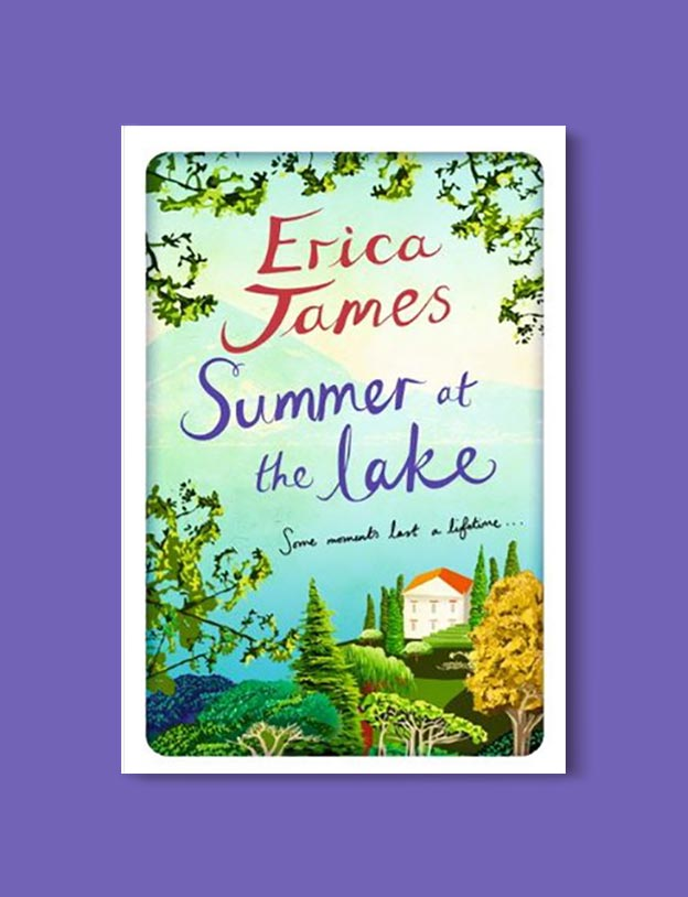 Books Set In Italy - Summer at the Lake by Erica James. For more books that inspire travel visit www.taleway.com to find books set around the world. italian books, books about italy, italy inspiration, italy travel, novels set in italy, italian novels, books and travel, travel reads, reading list, books around the world, books to read, books set in different countries, italy