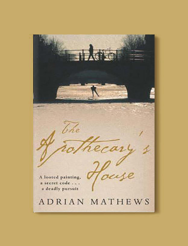 Books Set In Amsterdam - The Apothecary's House by Adrian Mathews. For more books visit www.taleway.com to find books set around the world. Ideas for those who like to travel, both in life and in fiction. #books #novels #bookworm #booklover #fiction #travel #amsterdam