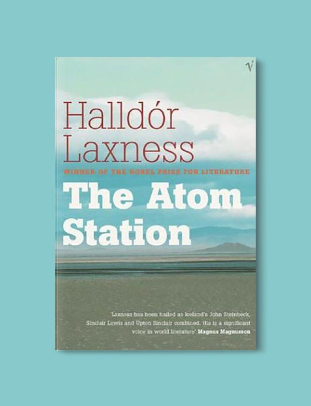 Books Set In Iceland - The Atom Station by Halldór Laxness. For more books visit www.taleway.com to find books set around the world. Ideas for those who like to travel, both in life and in fiction. #books #novels #fiction #iceland #travel