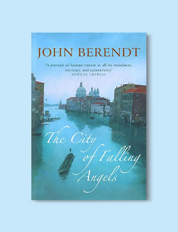 Books Set In Italy - The City of Falling Angels by John Berendt. For more books that inspire travel visit www.taleway.com to find books set around the world. italian books, books about italy, italy inspiration, italy travel, novels set in italy, italian novels, books and travel, travel reads, reading list, books around the world, books to read, books set in different countries, italy