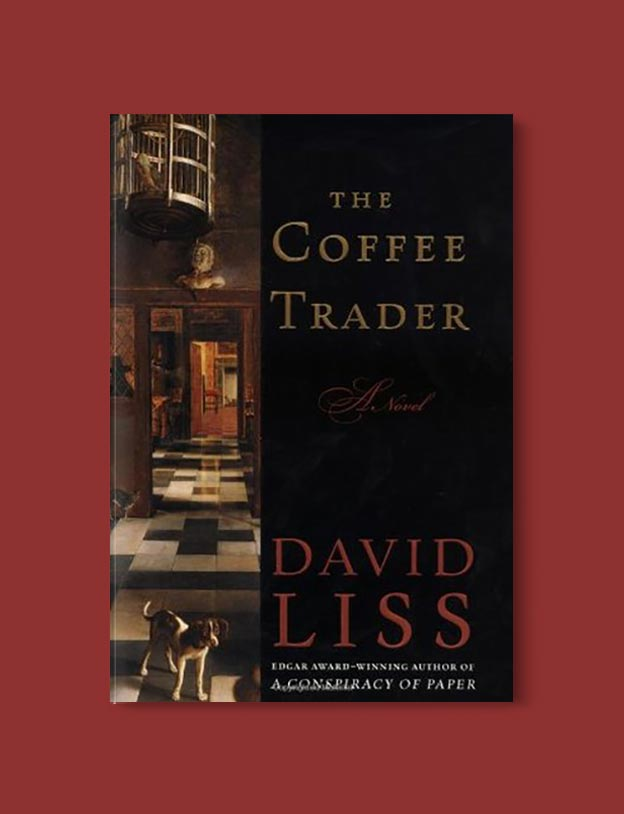 Books Set In Amsterdam - The Coffee Trader by David Liss. For more books visit www.taleway.com to find books set around the world. Ideas for those who like to travel, both in life and in fiction. #books #novels #bookworm #booklover #fiction #travel #amsterdam