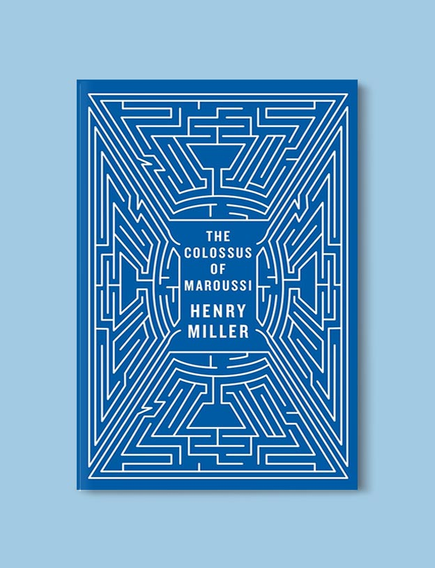 Books Set In Greece - The Colossus of Maroussi by Henry Miller. For more books visit www.taleway.com to find books set around the world. Ideas for those who like to travel, both in life and in fiction. #books #novels #fiction #travel #greece