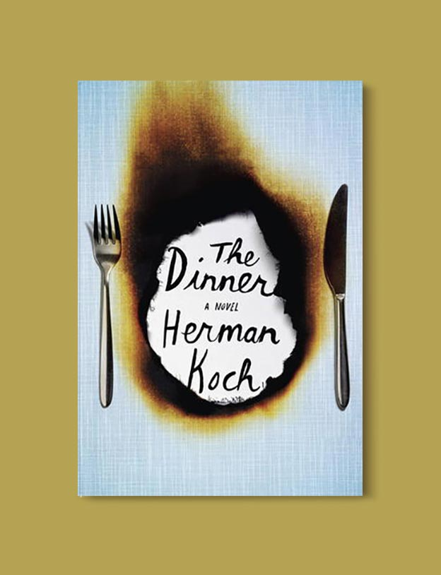 Books Set In Amsterdam - The Dinner by Herman Koch. For more books visit www.taleway.com to find books set around the world. Ideas for those who like to travel, both in life and in fiction. #books #novels #bookworm #booklover #fiction #travel #amsterdam