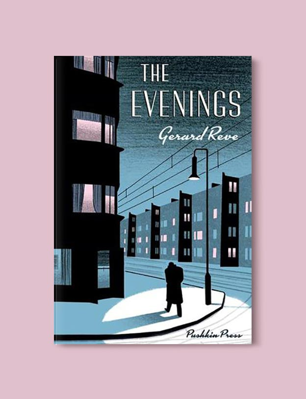 Books Set In Amsterdam - The Evenings by Gerard Reve. For more books visit www.taleway.com to find books set around the world. Ideas for those who like to travel, both in life and in fiction. #books #novels #bookworm #booklover #fiction #travel #amsterdam