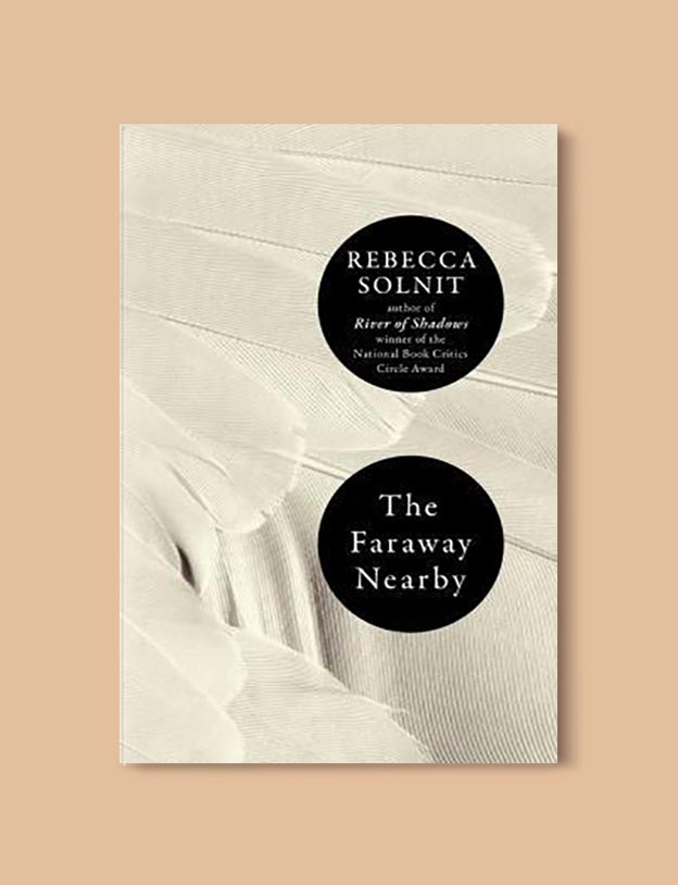 Books Set In Iceland - The Faraway Nearby by Rebecca Solnit. For more books visit www.taleway.com to find books set around the world. Ideas for those who like to travel, both in life and in fiction. #books #novels #fiction #iceland #travel