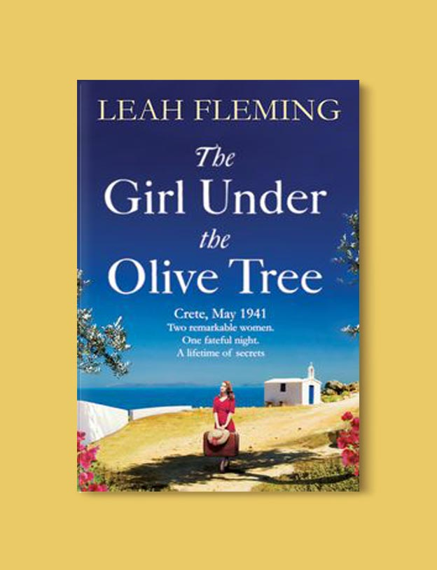 Books Set In Greece - The Girl Under the Olive Tree by Leah Fleming. For more books visit www.taleway.com to find books set around the world. Ideas for those who like to travel, both in life and in fiction. #books #novels #fiction #travel #greece