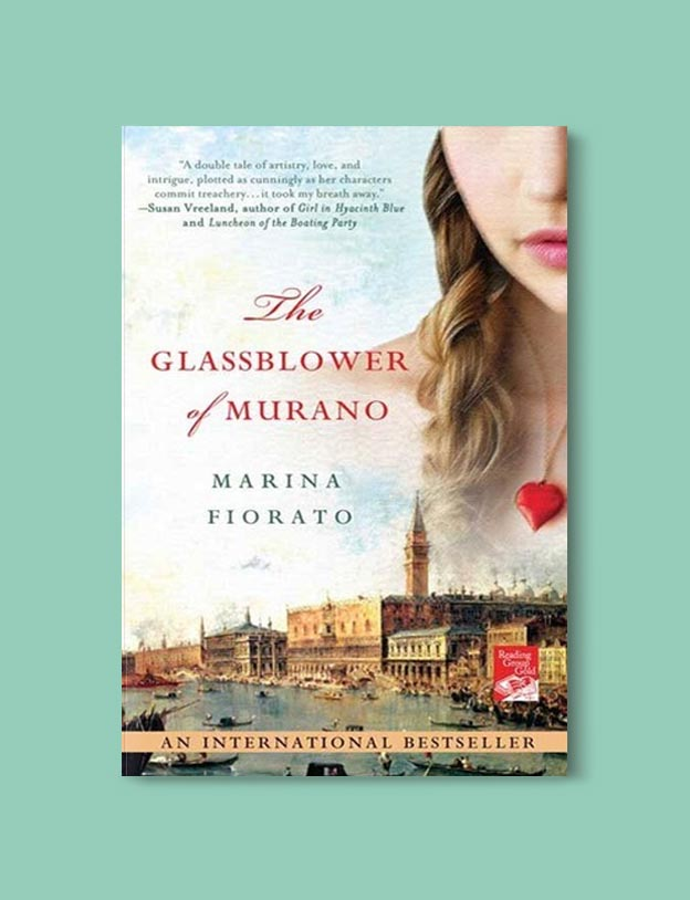 Books Set In Italy - The Glassblower of Murano by Marina Fiorato. For more books that inspire travel visit www.taleway.com to find books set around the world. italian books, books about italy, italy inspiration, italy travel, novels set in italy, italian novels, books and travel, travel reads, reading list, books around the world, books to read, books set in different countries, italy