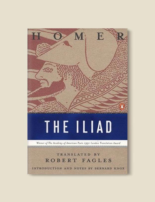 Books Set In Greece - The Iliad by Homer. For more books visit www.taleway.com to find books set around the world. Ideas for those who like to travel, both in life and in fiction. #books #novels #fiction #travel #greece