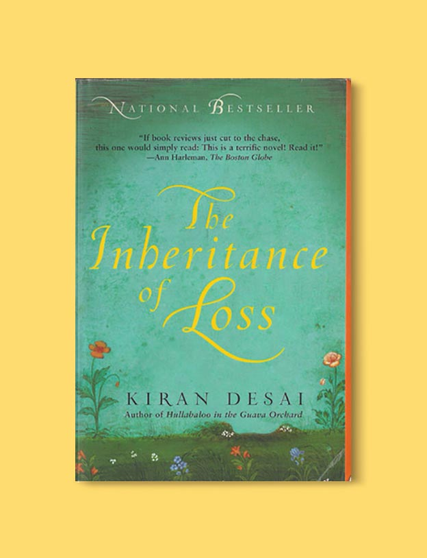 Books Set In India - The Inheritance of Loss by Kiran Desai. For more books visit www.taleway.com to find books set around the world. Ideas for those who like to travel, both in life and in fiction. #books #novels #bookworm #booklover #fiction #travel