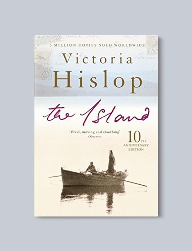 Books Set In Greece - The Island by Victoria Hislop. For more books visit www.taleway.com to find books set around the world. Ideas for those who like to travel, both in life and in fiction. #books #novels #fiction #travel #greece