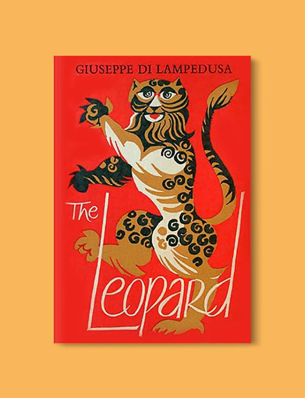 Books Set In Italy - The Leopard by Giuseppe Tomasi di Lampedusa. For more books that inspire travel visit www.taleway.com to find books set around the world. italian books, books about italy, italy inspiration, italy travel, novels set in italy, italian novels, books and travel, travel reads, reading list, books around the world, books to read, books set in different countries, italy