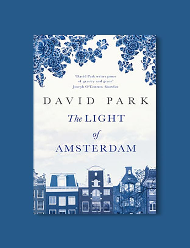 Books Set In Amsterdam - The Light of Amsterdam by David Park. For more books visit www.taleway.com to find books set around the world. Ideas for those who like to travel, both in life and in fiction. #books #novels #bookworm #booklover #fiction #travel #amsterdam