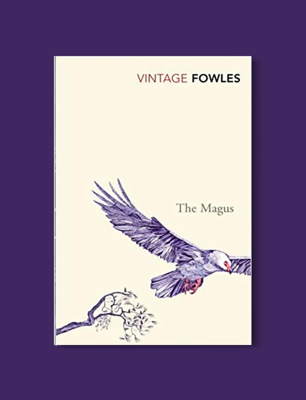 Books Set In Greece - The Magus by John Fowles. For more books visit www.taleway.com to find books set around the world. Ideas for those who like to travel, both in life and in fiction. #books #novels #fiction #travel #greece