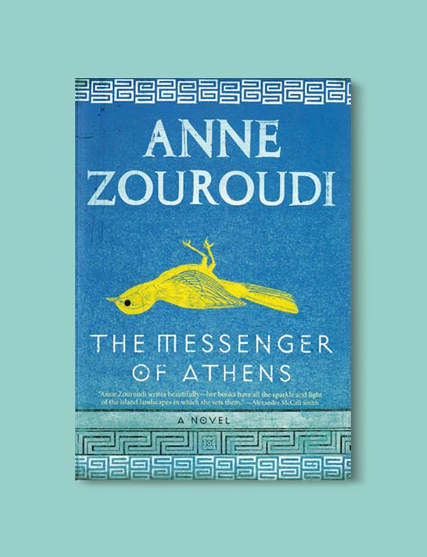 Books Set In Greece - The Messenger of Athens by Anne Zouroudi. For more books visit www.taleway.com to find books set around the world. Ideas for those who like to travel, both in life and in fiction. #books #novels #fiction #travel #greece