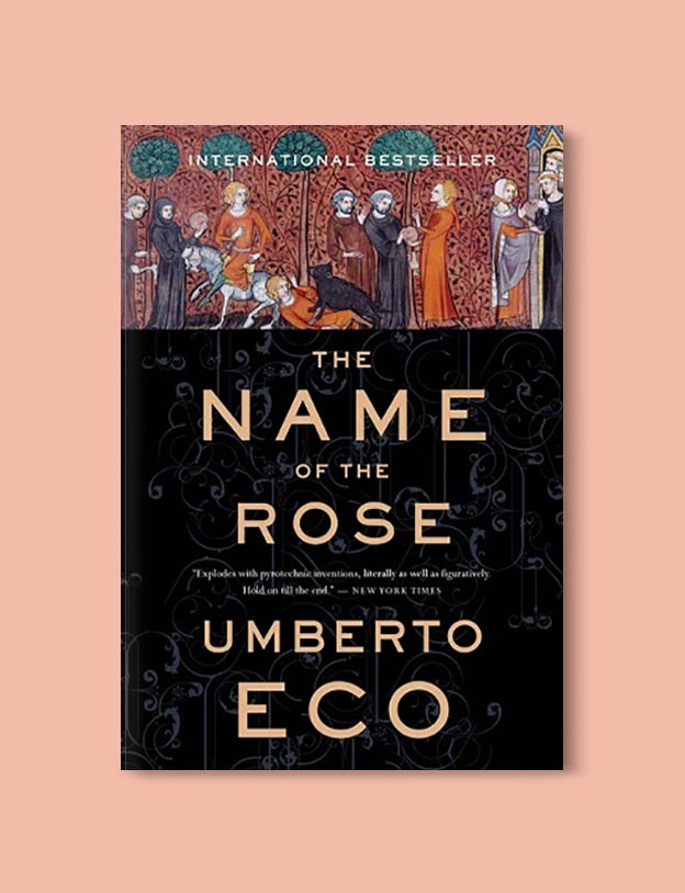 Books Set In Italy - The Name of the Rose by Umberto Eco. For more books that inspire travel visit www.taleway.com to find books set around the world. italian books, books about italy, italy inspiration, italy travel, novels set in italy, italian novels, books and travel, travel reads, reading list, books around the world, books to read, books set in different countries, italy
