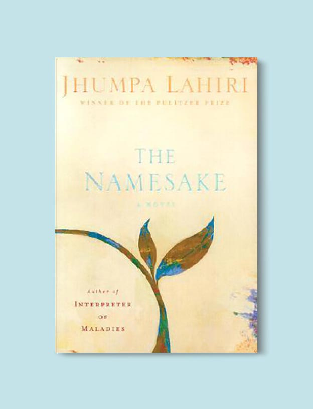 Books Set In India - The Namesake by Jhumpa Lahiri. For more books visit www.taleway.com to find books set around the world. Ideas for those who like to travel, both in life and in fiction. #books #novels #bookworm #booklover #fiction #travel