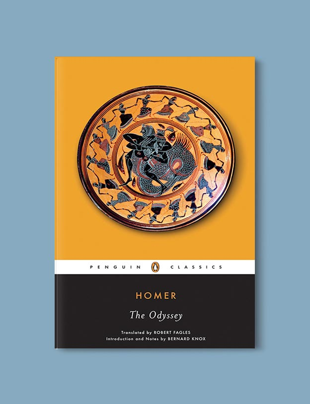 Books Set In Greece - The Odyssey by Homer. For more books visit www.taleway.com to find books set around the world. Ideas for those who like to travel, both in life and in fiction. #books #novels #fiction #travel #greece
