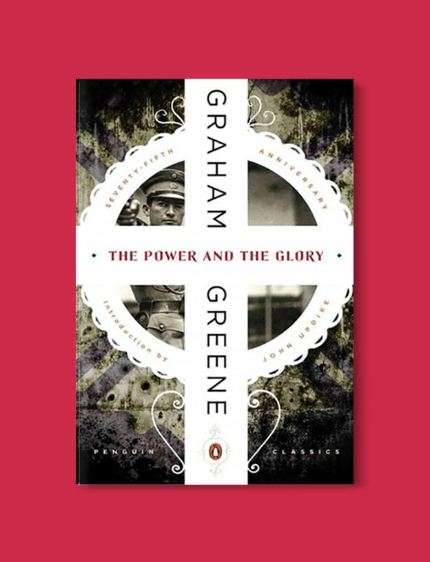 Books Set In Mexico - The Power and the Glory by Graham Greene. For more books visit www.taleway.com to find books set around the world. Ideas for those who like to travel, both in life and in fiction. mexican books, reading list, books around the world, books to read, books set in different countries, mexico