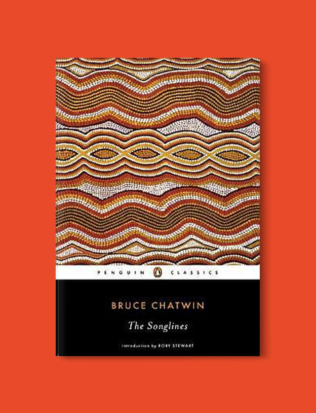 Books Set In Australia - The Songlines by Bruce Chatwin. For more books visit www.taleway.com to find books set around the world. Ideas for those who like to travel, both in life and in fiction. australian books, books and travel, travel reads, reading list, books around the world, books to read, books set in different countries, australia