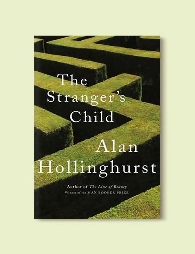 Books Set In Italy - The Stranger's Child by Alan Hollinghurst. For more books that inspire travel visit www.taleway.com to find books set around the world. italian books, books about italy, italy inspiration, italy travel, novels set in italy, italian novels, books and travel, travel reads, reading list, books around the world, books to read, books set in different countries, italy