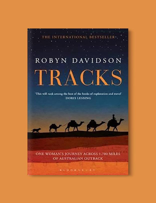 Books Set In Australia - Tracks: A Woman's Solo Trek Across 1700 Miles of Australian Outback by Robyn Davidson. For more books visit www.taleway.com to find books set around the world. Ideas for those who like to travel, both in life and in fiction. australian books, books and travel, travel reads, reading list, books around the world, books to read, books set in different countries, australia