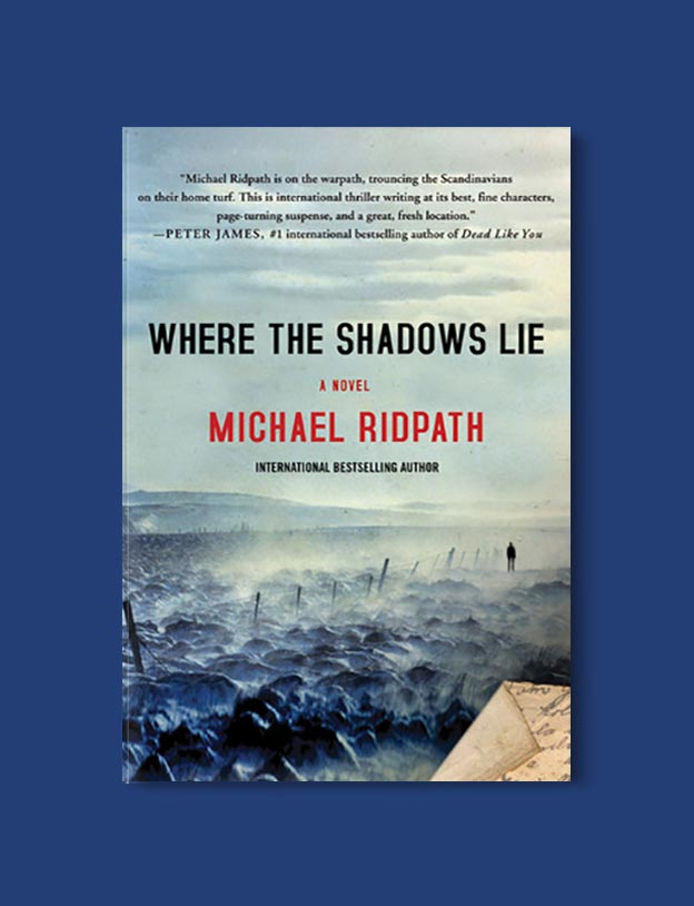 Books Set In Iceland - Where the Shadows Lie by Michael Ridpath. For more books visit www.taleway.com to find books set around the world. Ideas for those who like to travel, both in life and in fiction. #books #novels #fiction #iceland #travel