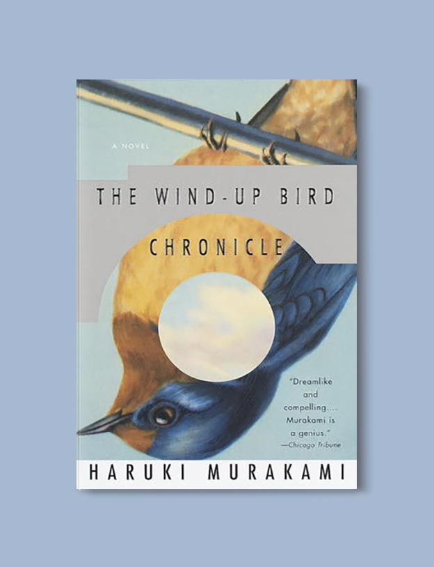 Books Set In Japan - The Wind Up Bird Chronicle by Haruki Murakami. For more books visit www.taleway.com to find books set around the world. Ideas for those who like to travel, both in life and in fiction. #books #novels #bookworm #booklover #fiction #travel #japan
