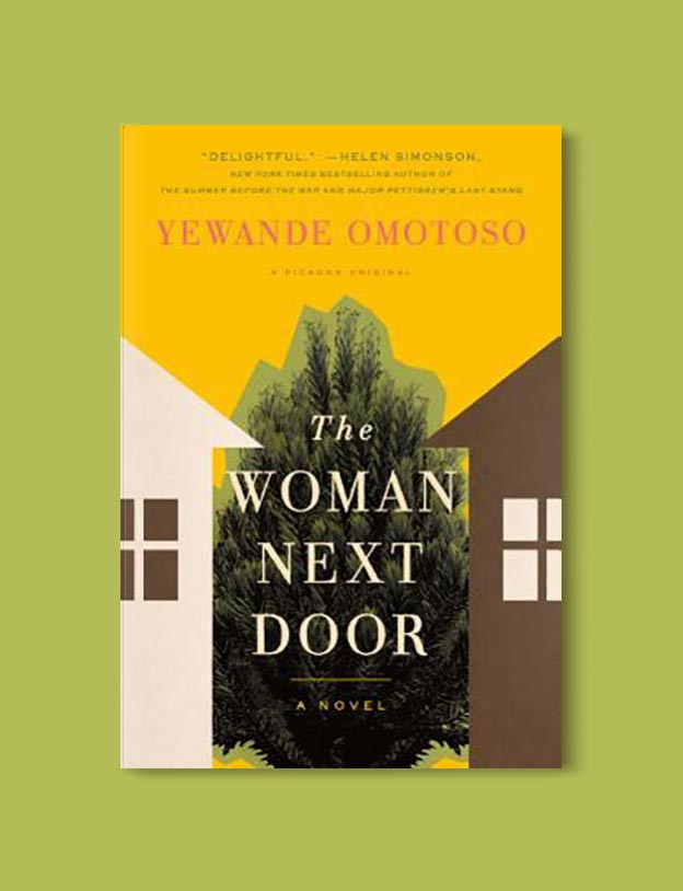 Books Set In South Africa - The Woman Next Door by Yewande Omotoso. For more books that inspire travel visit www.taleway.com to find books set around the world. south african books, books about south africa, south africa inspiration, south africa travel, novels set in south africa, south african novels, books and travel, travel reads, reading list, books around the world, books to read, books set in different countries, south africa