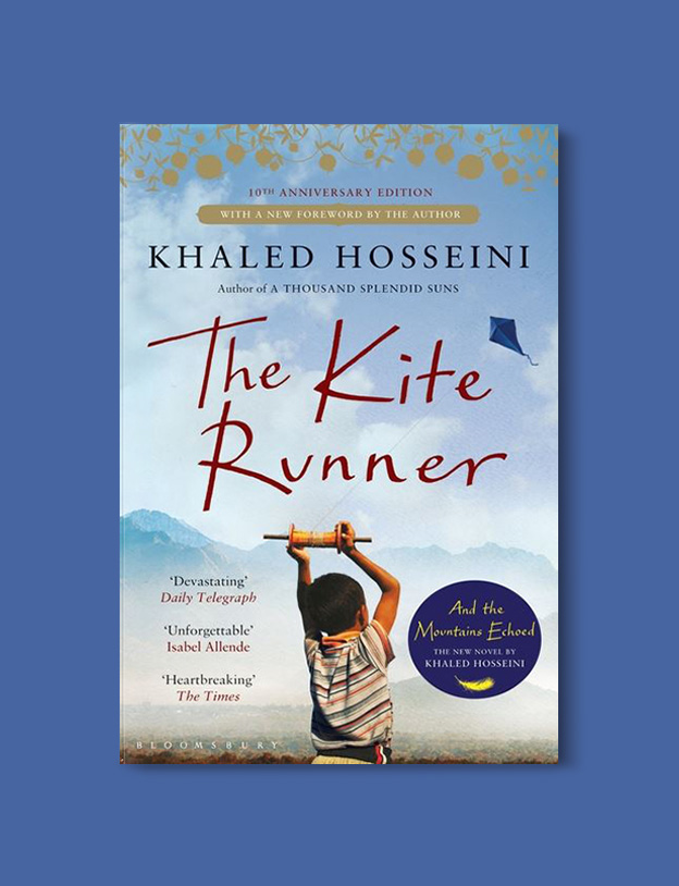 Books Set Around The World - The Kite Runner by Khaled Hosseini. For more books that inspire travel visit www.taleway.com to find books set around the world. world books, books around the world, travel inspiration, world travel, novels set around the world, world novels, books and travel, travel reads, reading list, books to read, books set in different countries, world reading challenge