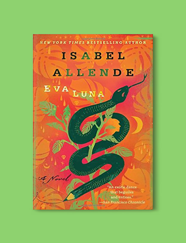 Books Set Around The World - Eva Luna by Isabel Allende. For more books that inspire travel visit www.taleway.com to find books set around the world. world books, books around the world, travel inspiration, world travel, novels set around the world, world novels, books and travel, travel reads, reading list, books to read, books set in different countries, world reading challenge