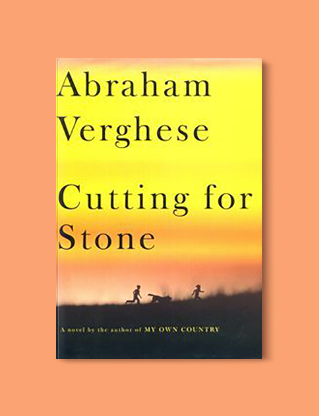 Books Set Around The World - Cutting for Stone by Abraham Verghese. For more books that inspire travel visit www.taleway.com to find books set around the world. world books, books around the world, travel inspiration, world travel, novels set around the world, world novels, books and travel, travel reads, reading list, books to read, books set in different countries, world reading challenge