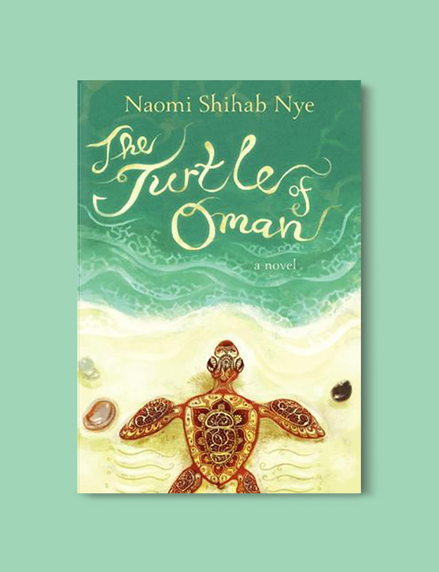 Books Set Around The World - The Turtle of Oman by Naomi Shihab Nye. For more books that inspire travel visit www.taleway.com to find books set around the world. world books, books around the world, travel inspiration, world travel, novels set around the world, world novels, books and travel, travel reads, reading list, books to read, books set in different countries, world reading challenge