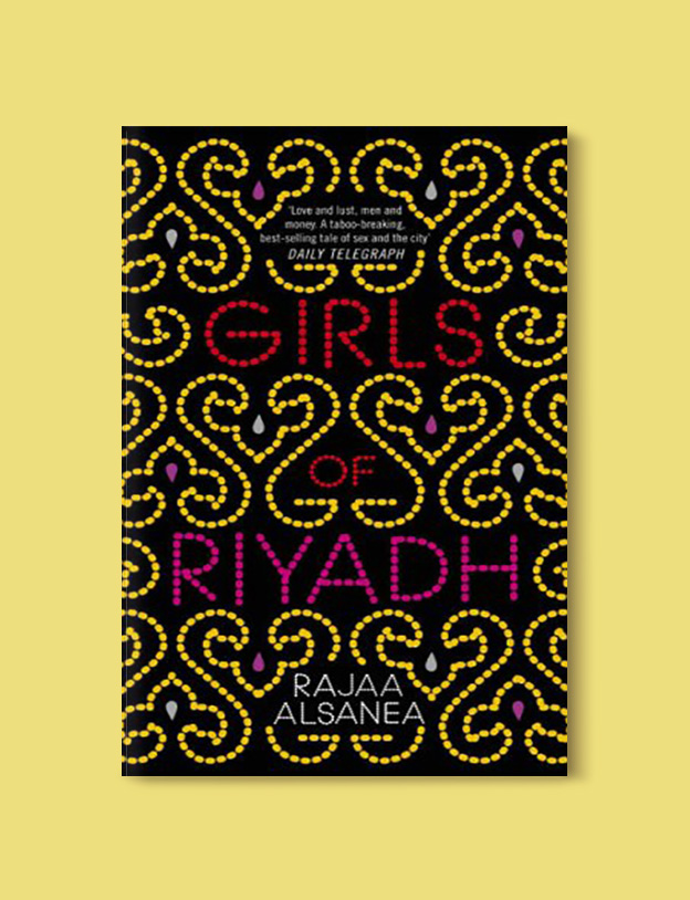Books Set Around The World - Girls of Riyadh by Rajaa Alsanea. For more books that inspire travel visit www.taleway.com to find books set around the world. world books, books around the world, travel inspiration, world travel, novels set around the world, world novels, books and travel, travel reads, reading list, books to read, books set in different countries, world reading challenge