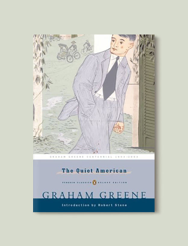 Books Set Around The World - The Quiet American by Graham Greene. For more books that inspire travel visit www.taleway.com to find books set around the world. world books, books around the world, travel inspiration, world travel, novels set around the world, world novels, books and travel, travel reads, reading list, books to read, books set in different countries, world reading challenge