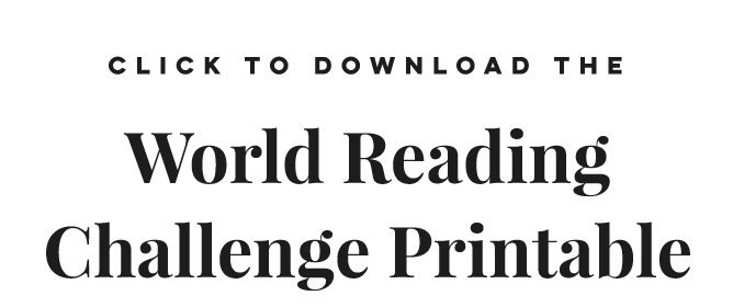 World Reading Challenge: Books Around The Globe 2018 - Tale Away