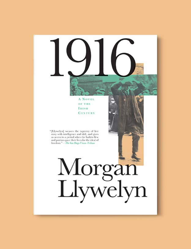 Books Set In Ireland - 1916: A Novel of the Irish Rebellion (Irish Century Novels 1/5) by Morgan Llywelyn. For more books that inspire travel visit www.taleway.com to find books set around the world. irish books, books about ireland, ireland inspiration, ireland travel, novels set in ireland, irish novels, books and travel, travel reads, reading list, books around the world, books to read, books set in different countries, ireland, ireland books, ireland packing list, ireland vacation, irish books novels