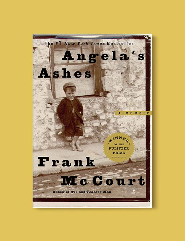 Books Set In Ireland - Angela's Ashes (Frank McCourt 1/3) by Frank McCourt. For more books that inspire travel visit www.taleway.com to find books set around the world. irish books, books about ireland, ireland inspiration, ireland travel, novels set in ireland, irish novels, books and travel, travel reads, reading list, books around the world, books to read, books set in different countries, ireland, ireland books, ireland packing list, ireland vacation, irish books novels