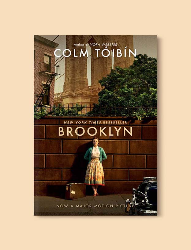 Books Set In Ireland - Brooklyn by Colm Tóibín. For more books that inspire travel visit www.taleway.com to find books set around the world. irish books, books about ireland, ireland inspiration, ireland travel, novels set in ireland, irish novels, books and travel, travel reads, reading list, books around the world, books to read, books set in different countries, ireland, ireland books, ireland packing list, ireland vacation, irish books novels
