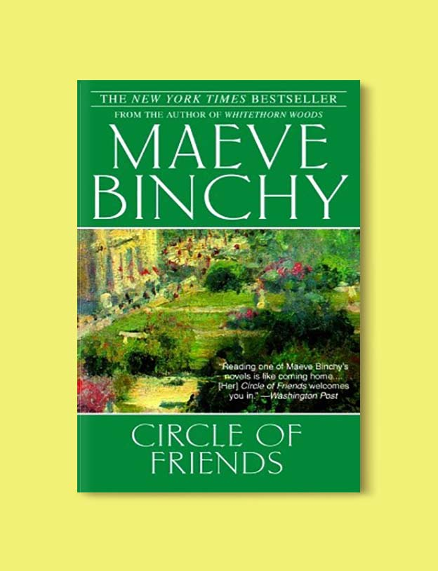 Books Set In Ireland - Circle of Friends by Maeve Binchy. For more books that inspire travel visit www.taleway.com to find books set around the world. irish books, books about ireland, ireland inspiration, ireland travel, novels set in ireland, irish novels, books and travel, travel reads, reading list, books around the world, books to read, books set in different countries, ireland, ireland books, ireland packing list, ireland vacation, irish books novels