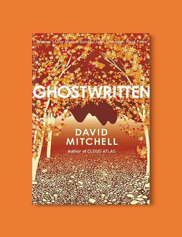 Books Set In Ireland - Ghostwritten by David Mitchell. For more books that inspire travel visit www.taleway.com to find books set around the world. irish books, books about ireland, ireland inspiration, ireland travel, novels set in ireland, irish novels, books and travel, travel reads, reading list, books around the world, books to read, books set in different countries, ireland, ireland books, ireland packing list, ireland vacation, irish books novels